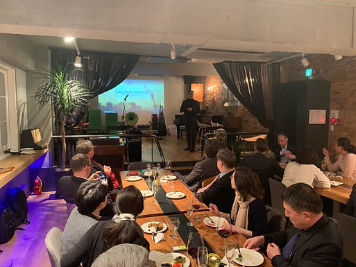January 2019, SKBC Afterwork on Smart, Sustainable Cities by Chungha Cha, Co-founder & Chair @Re-Imagining Cities Foundation