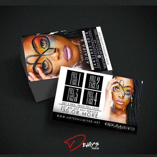 500 Business Card Design & Print