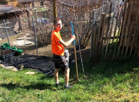Der Frühling kommt: Die JW Kirchberg sammelt die Hydrantenpfähle ein