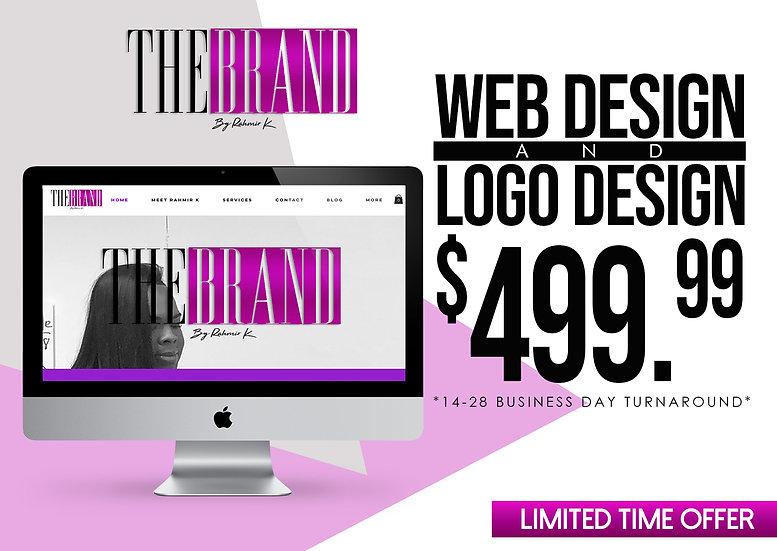 Basic Web Design & Logo Package