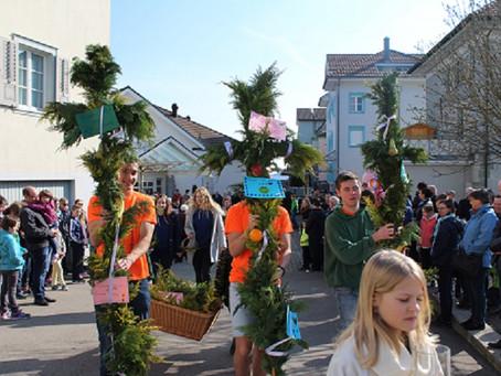 Festlicher Palmsonntags-Gottesdienst in Kirchberg