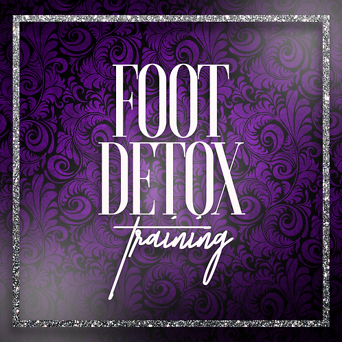 Foot Detox Training With Machine