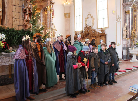 Sternsingen 2019/20 mit Aussende-Gottesdienst eröffnet