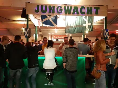Grosses Fest und grosser Erfolg der JW-Bar am BHK18