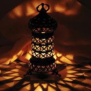 Light and shadows of bronze handmade Tur