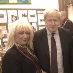 Carole Bromley Boris Johnson