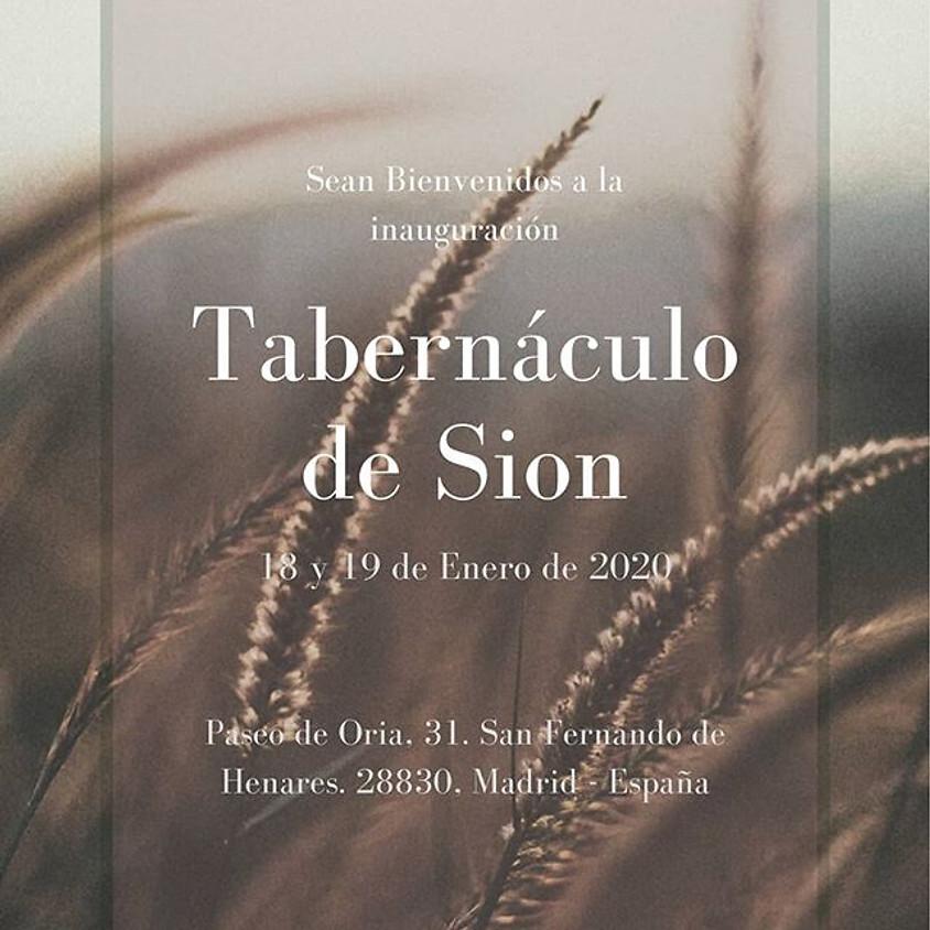 Inauguração Tabernáculo de Sion- España