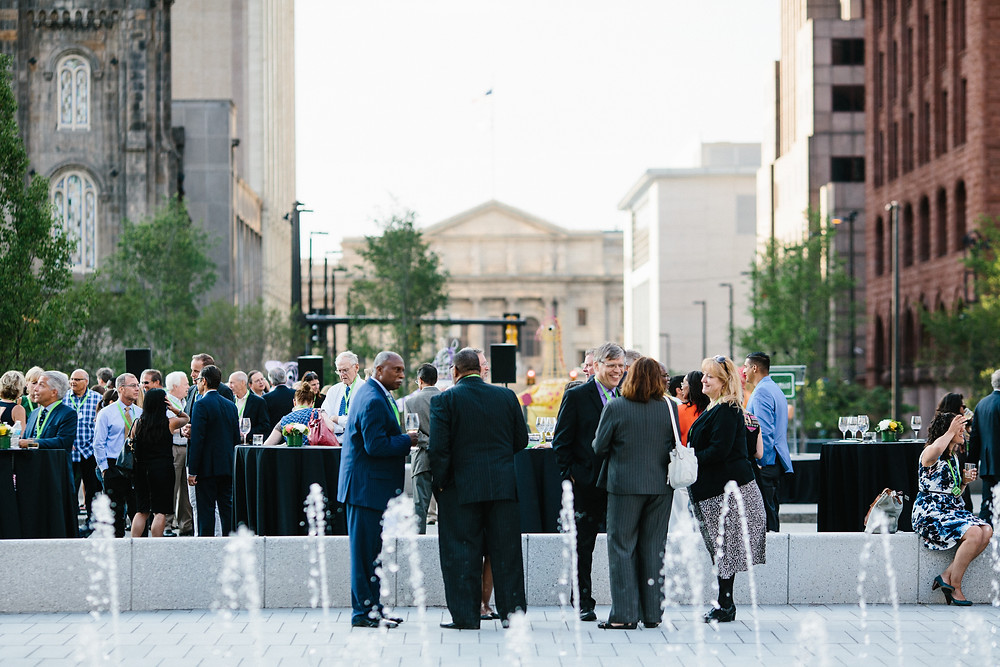 Public Square is a great venue to host events of any kind in downtown Cleveland