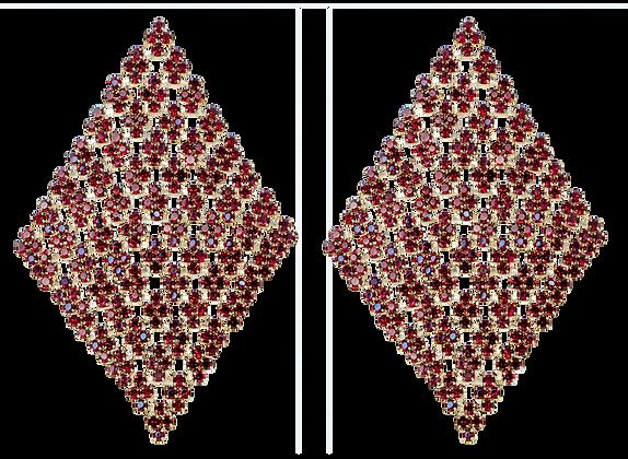 Aretes de Piedra Roja