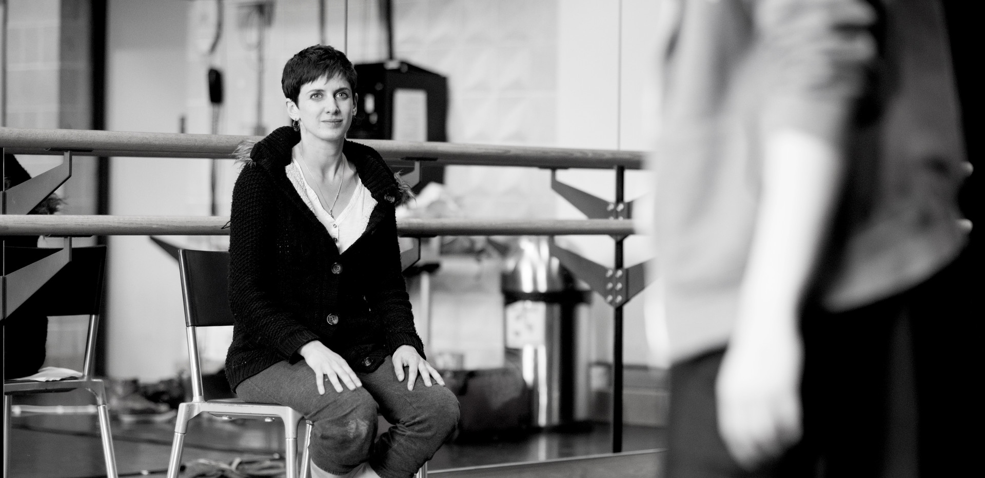 Rehearsals for Wild Card at Sadler's Wells / Photo credit Camilla Greenwell