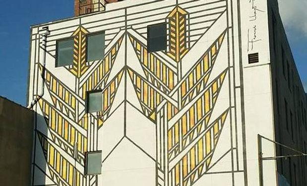 Prairie Sumac Mural - Springfield IL