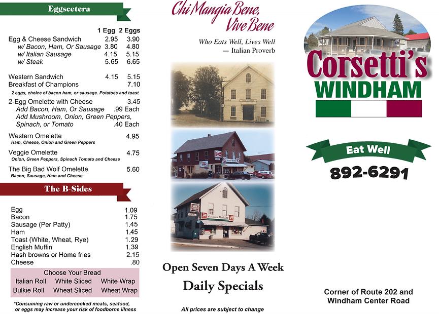 corsettis menu outside 2021.png