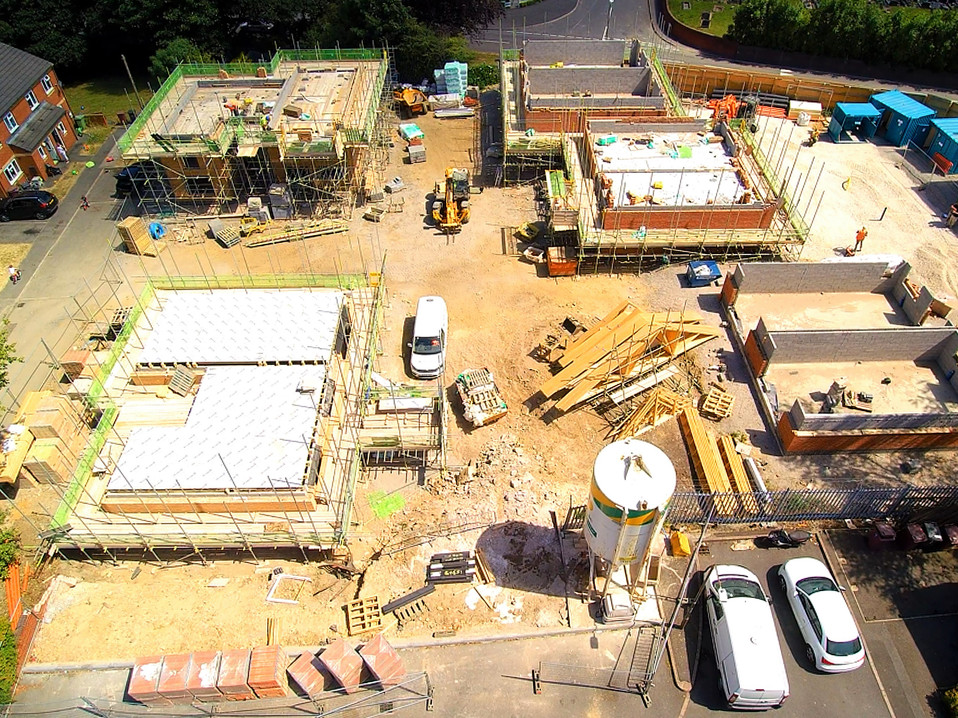 Aerial Construction Progress Reports Norfolk