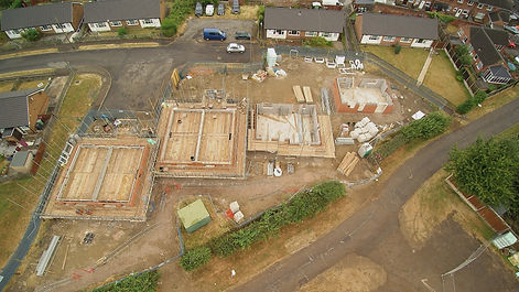 House Build Aerial Progress Photographer