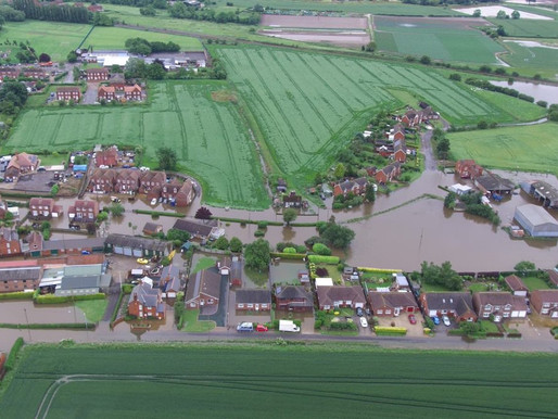 Drones used to assess Lincolnshire Floods