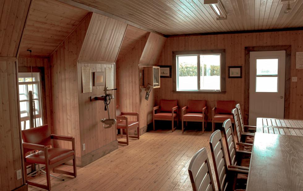 Camp des Guides, salle de réunion