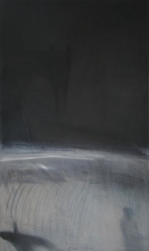 Anticipation   acrylic on canvas  60x36