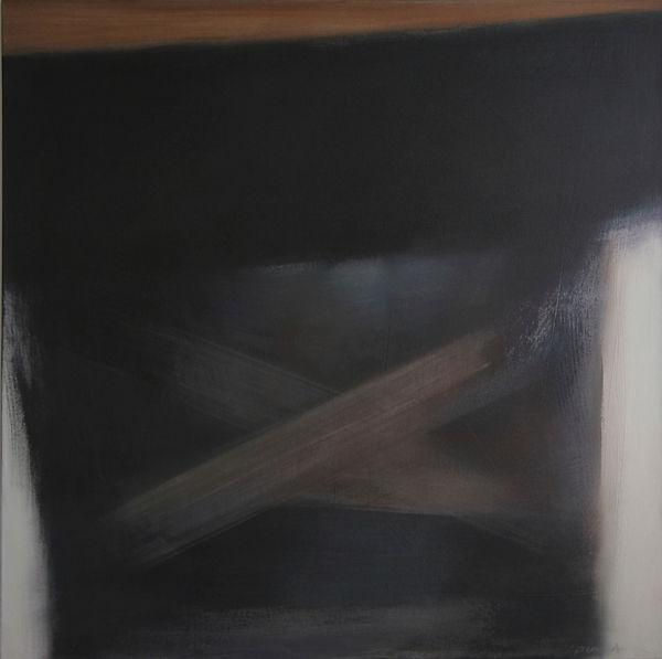 No Exit    acrylic on canvas  44 x 44 in