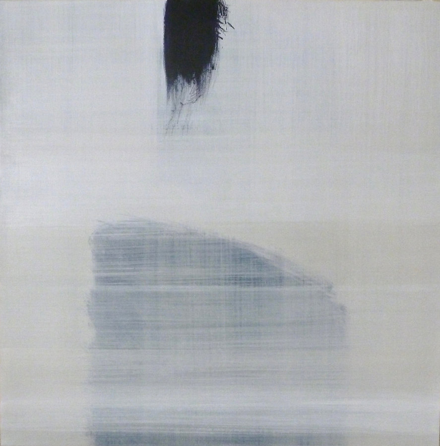 A Step Out   acrylic on canvas. 36 x 36