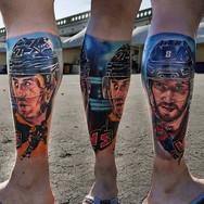 Malkin & Ovechkin by _ksenia_vaykhel_Tattoo Bar _Artist_ _ksenia_vaykhel_Brno_REISSIGOVA 1 _Pro objednání pište nám na fb nebo na info_tatto