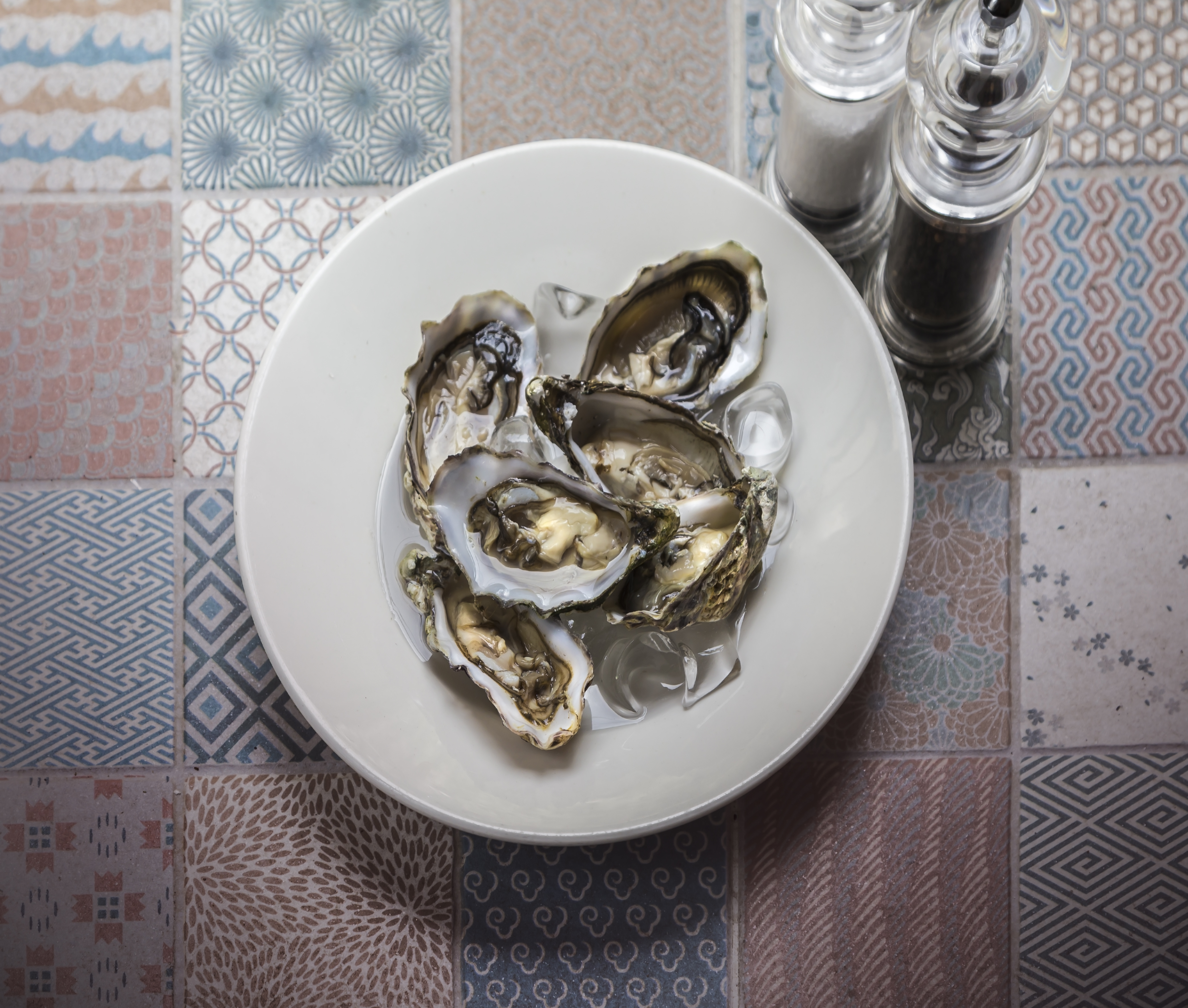 Oysters at Man Friday