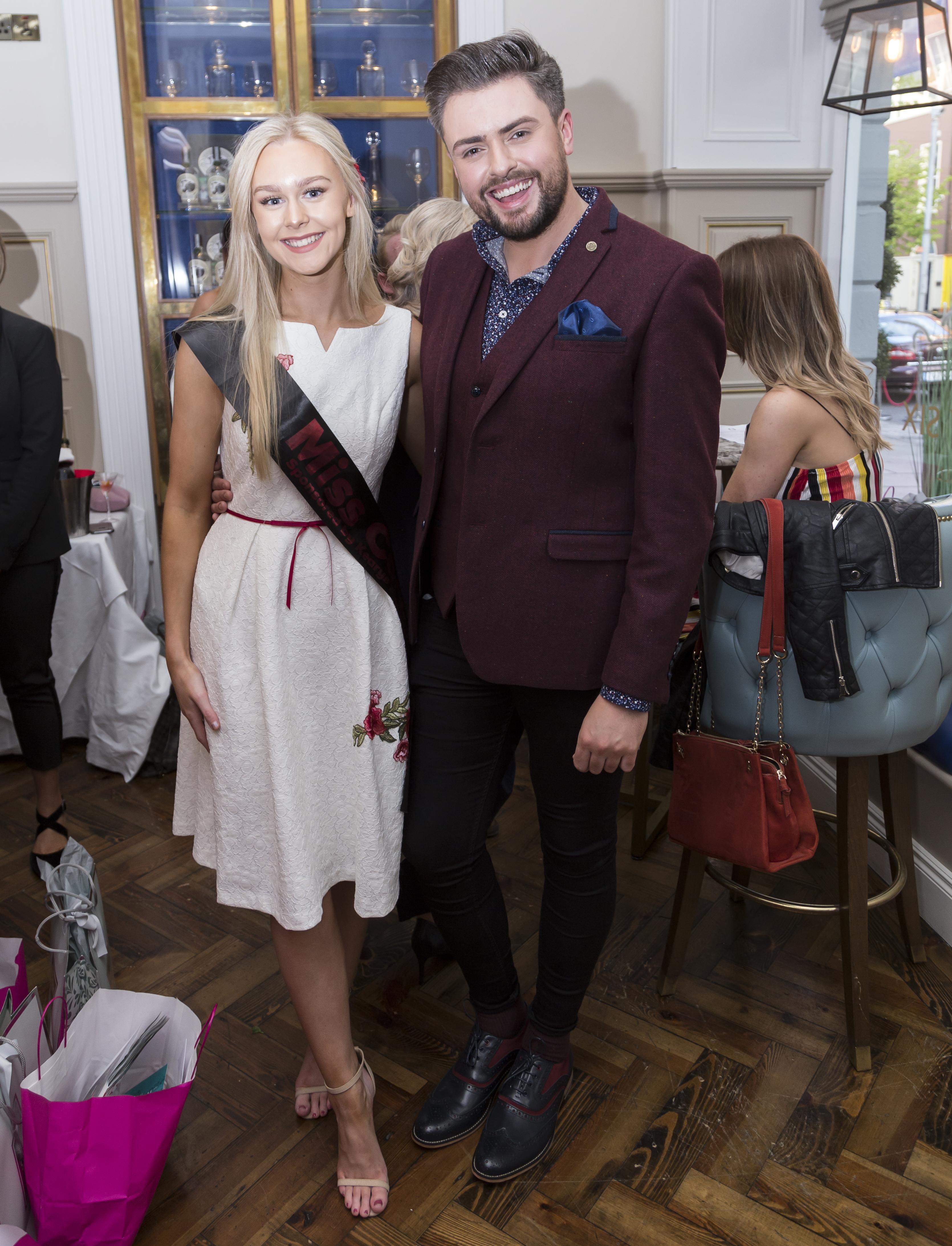 Miss Cork Tara Nolan with James
