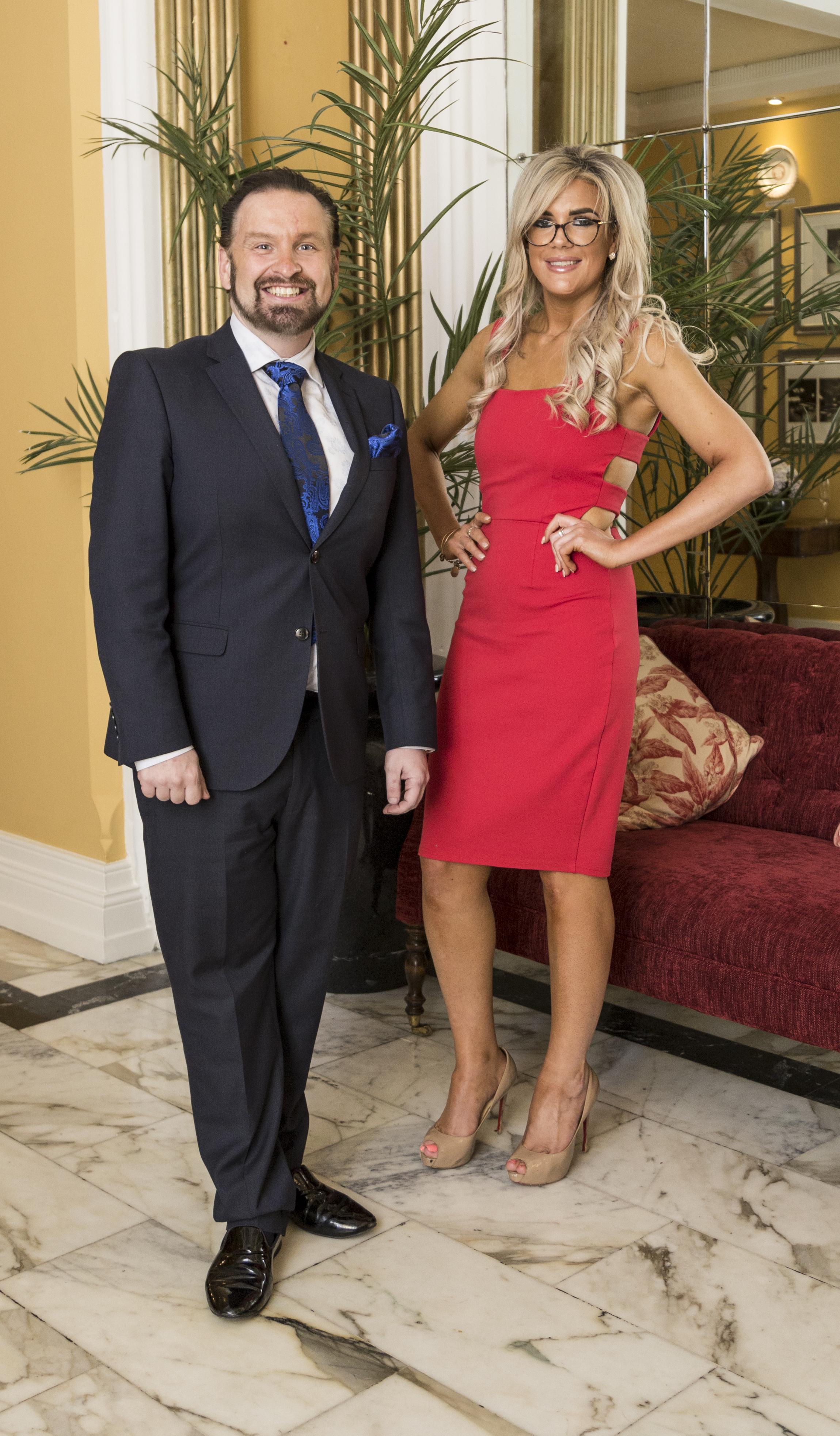 Councillor Ken O Flynn and Brenda Denneh