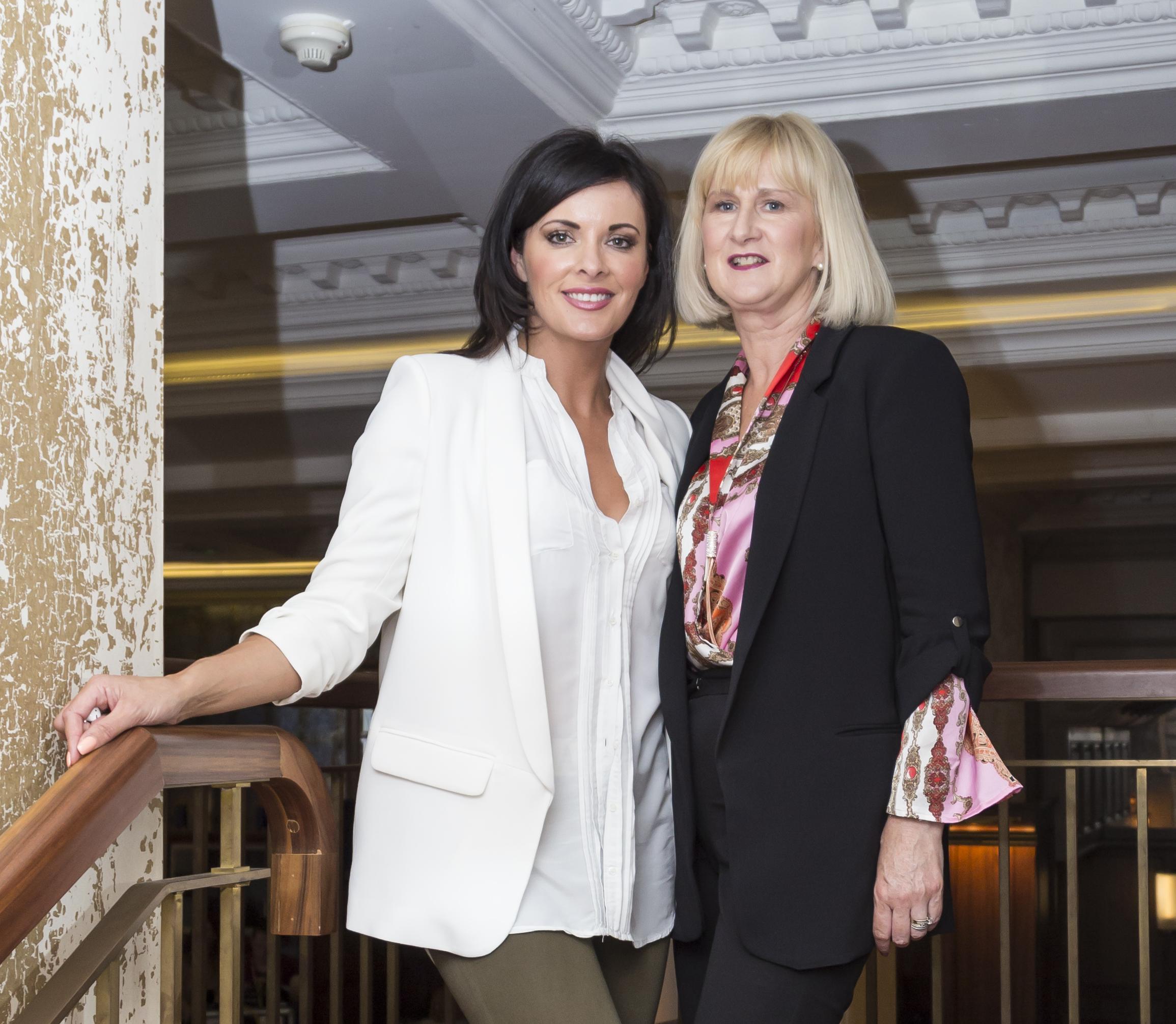 Jennifer Thomas and Lorraine O'Neill