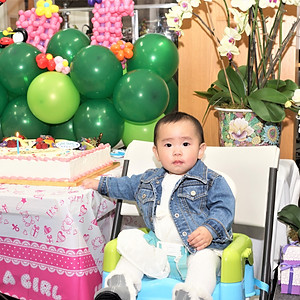 March 2018 - Zoe's 1st Birthday