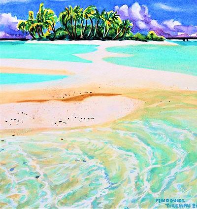 motu et banc de sable 40 x 30 vendu_edit