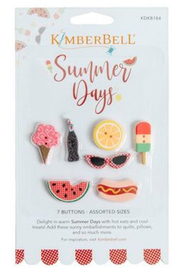 Kimberbell Summer Days Buttons