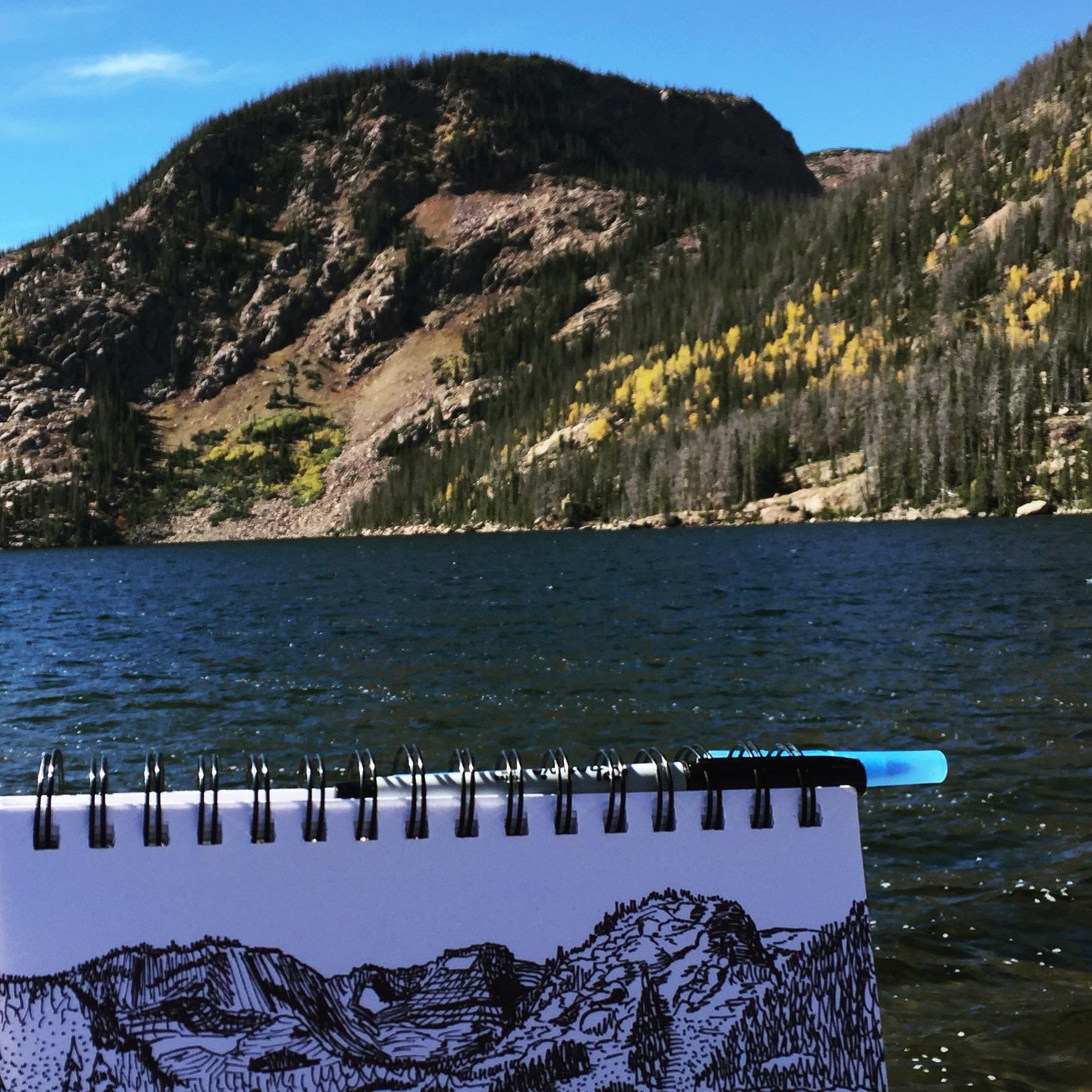 Rainbow Lake 1