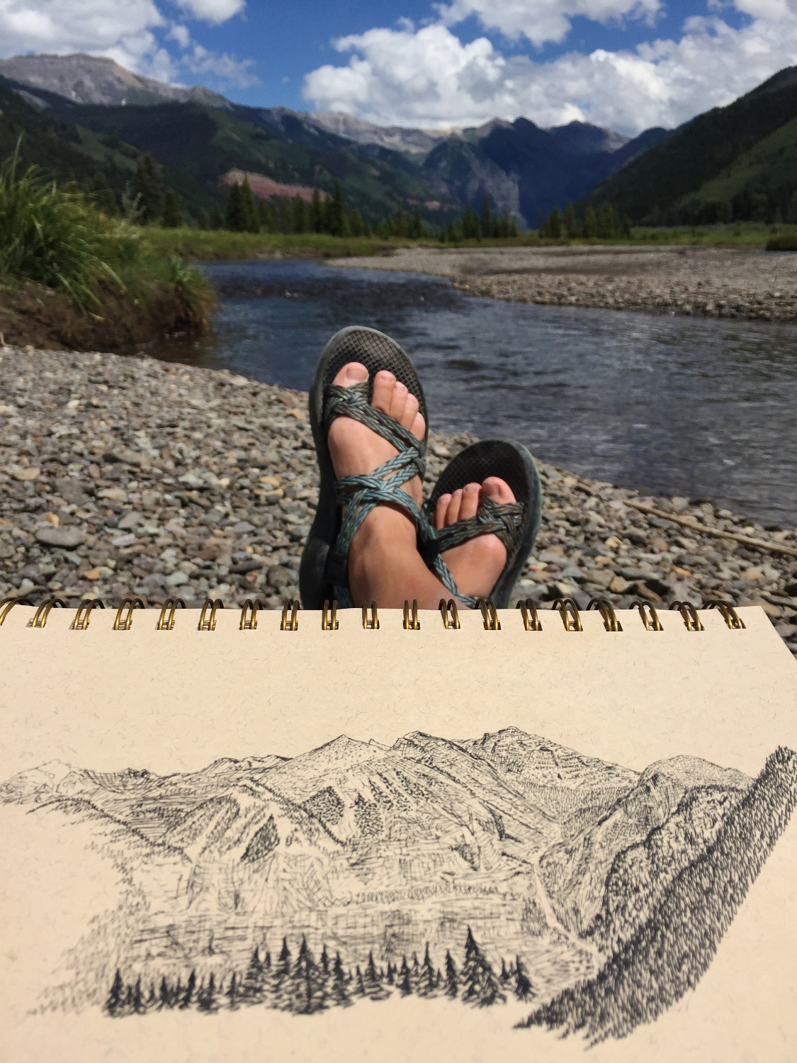 Telluride by the river
