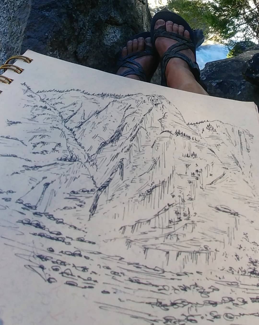Sequoia NP mountain sketch.jpg