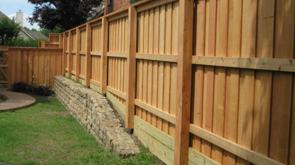 TurfPlus Wodden Fence