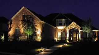 Landscape Lighting in Bridgeland