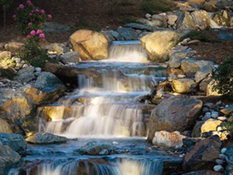 Water features as a stepping stone for your healthy and happy life