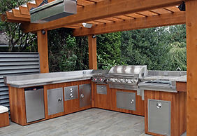 Outdoor Kitchen Designing Services Cypress, Houston