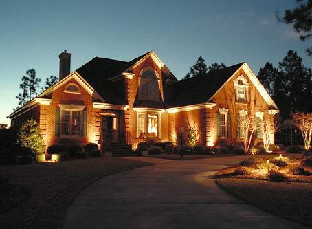 Light up the landscape with outdoor lights to remove the darkness adding versatility