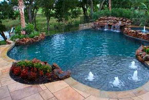 Pools and Spas Designing Services Cypress, Houston