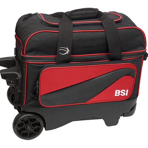 "BSI Large 5"" Wheel Double rolling bag"