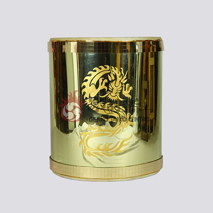 Gold Mirror Drum (50cm)