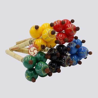 Ball Maracas (Rattan)