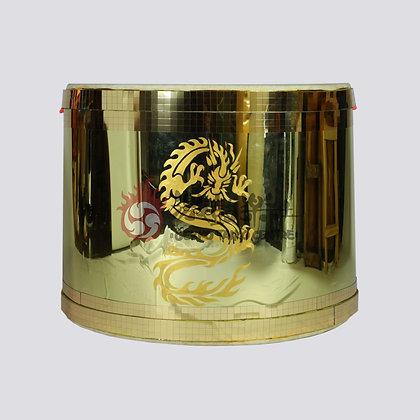 Gold Mirror Drum (75cm)