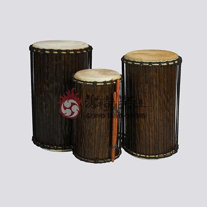 木製非洲低音鼓