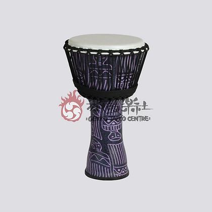 PVC Djembe (Purple Ethnic Pattern)