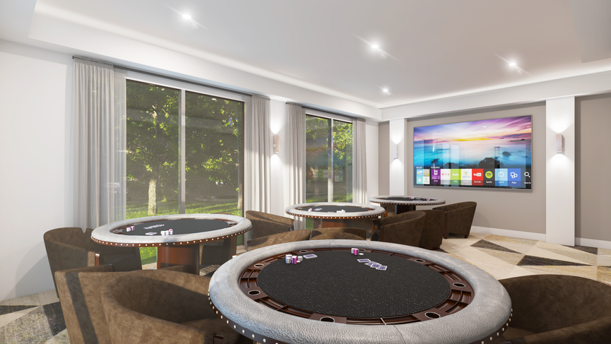 Taj Residences Clubhouse Gameroom