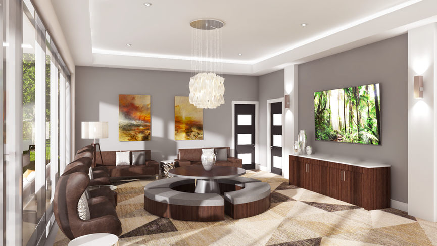 Taj Residences Clubhouse Lounge