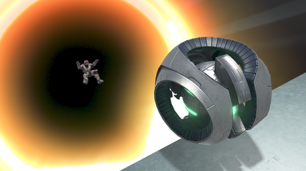 Falling into the Black Hole
