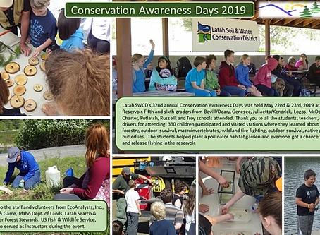 2019 Conservation Awareness Days Summary